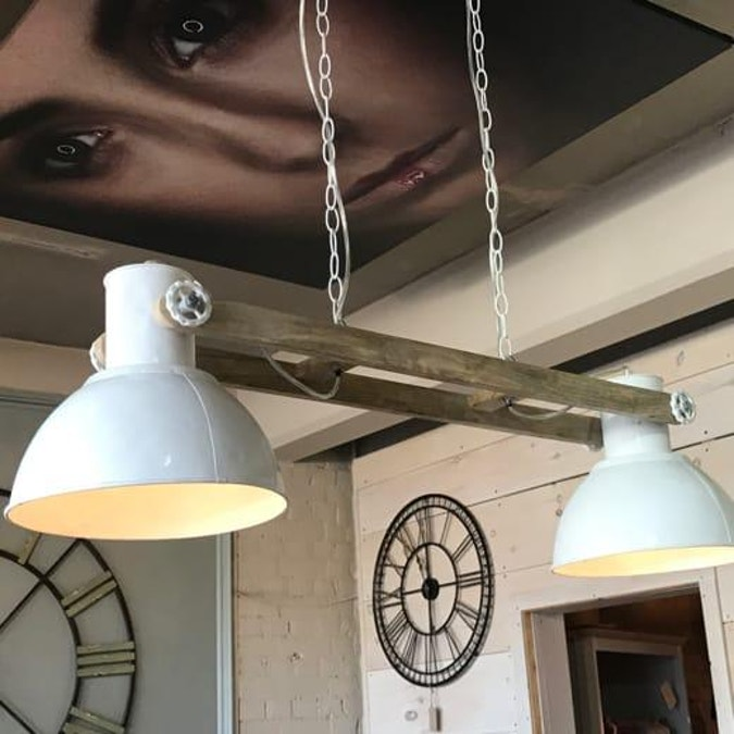 Elay-Double Hanging Lamp