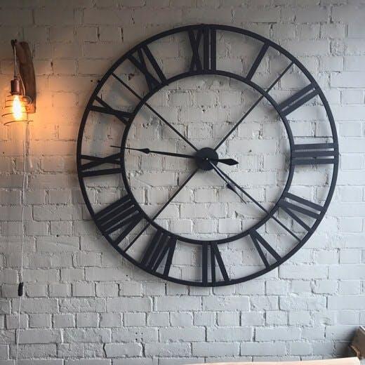 Large Black Clock