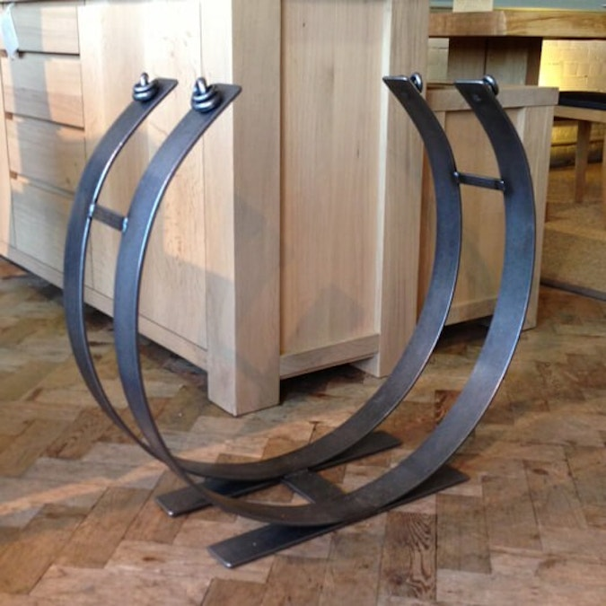 Large Ring Log Rack