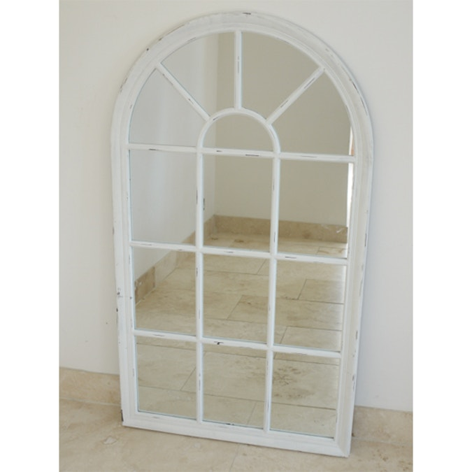 Wood Arch Top mirror