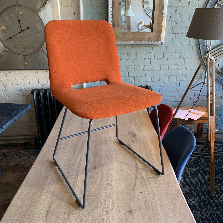 Pamp Chair-Metal Legs