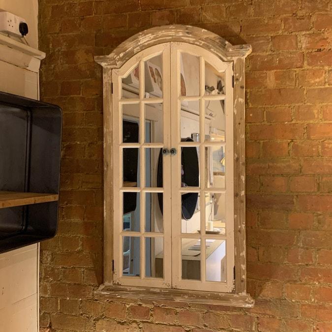 Aged Window Mirror