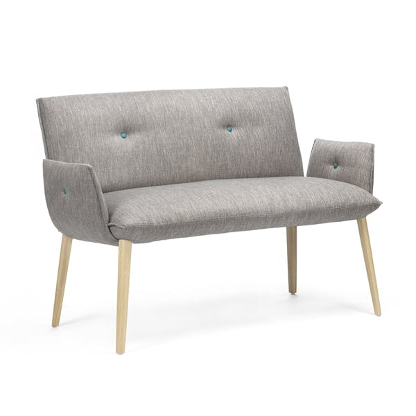 Soda Duo Bench with Arms