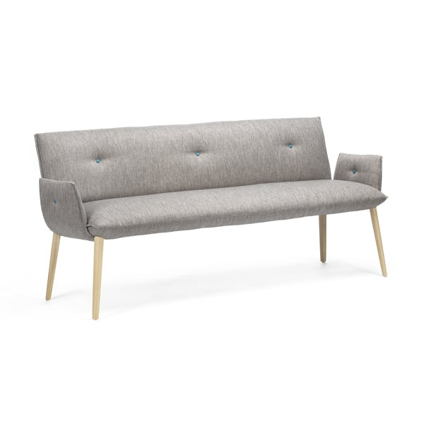 Soda Trio Bench with Arms